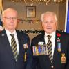 MSM awarded to two well deserving legionnaires - Bill Beswetherick and John Robertson, 1 January 2018.